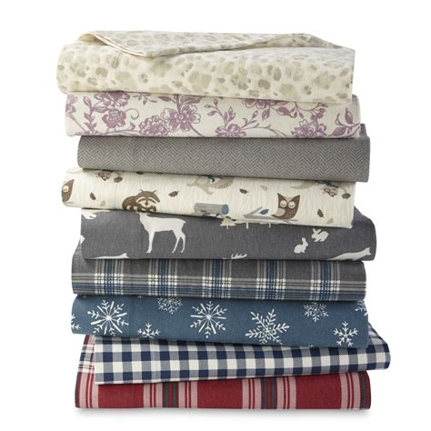 flannel bedding cannon flannel sheet set home bed bath bedding