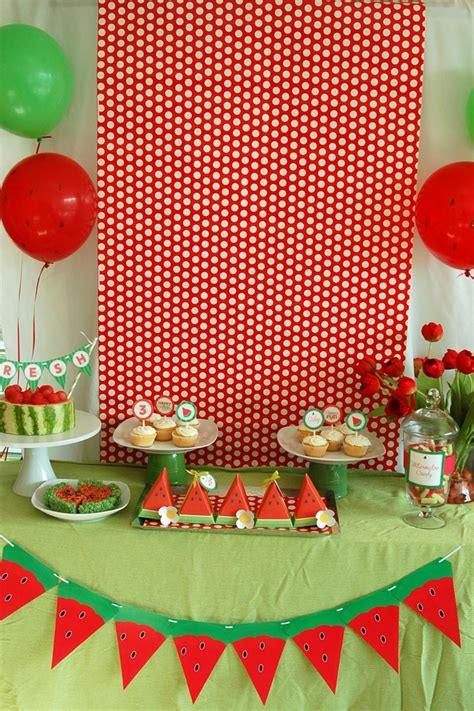 Watermelon Decorations by 17 Best Ideas About Watermelon Decorations On