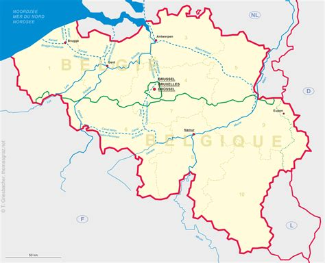 belgium rivers map belgium map rivers images