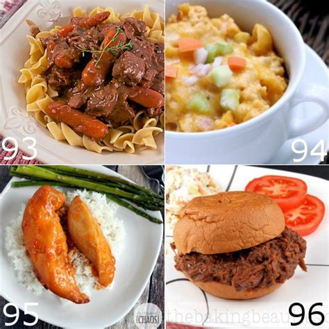 crock pot dinner ideas the gracious wife