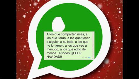imagenes para whatsapp de navidad whatsapp 10 mensajes para navidad y a 241 o nuevo que puedes