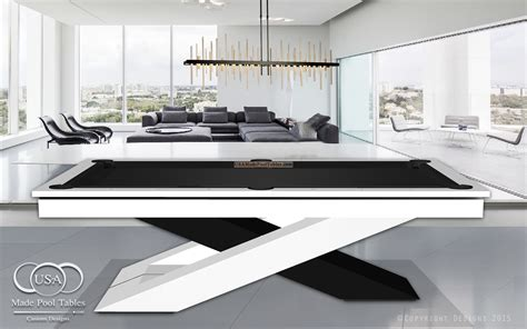 modern white pool table custom pool tables modern pool tables contemporary