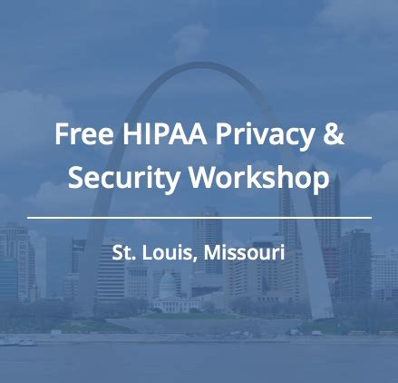 join us for a free hipaa workshop in st louis
