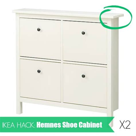 ikea shoe cabinet hack ikea hack hemnes shoe cabinet how to install two hemnes