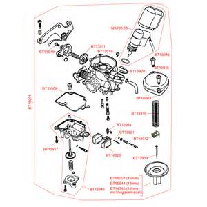 05 carburetor spare parts gy6 50cc
