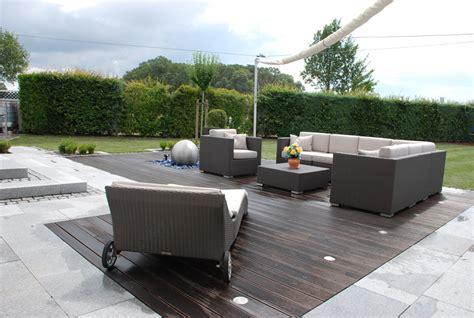 schöne terrassen netzeband garten und landschaftsbau