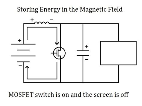 energy stored magnetic field inductor need a boost