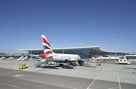 architect and building news report on airport building gibraltar airport building e architect