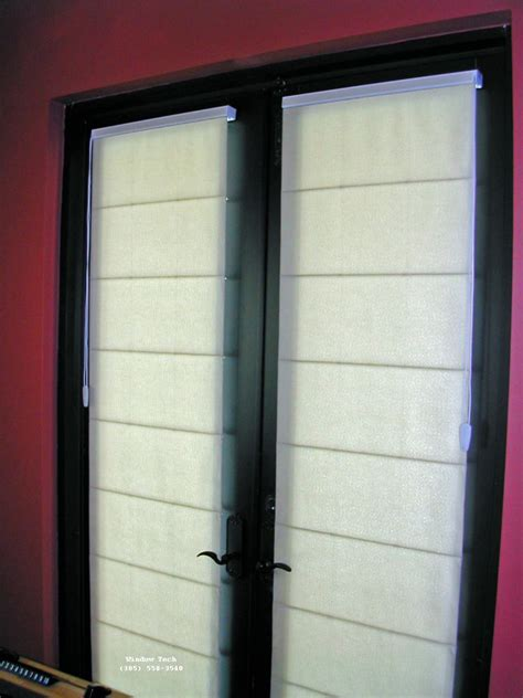 Door Shade window treatments for doors casual cottage