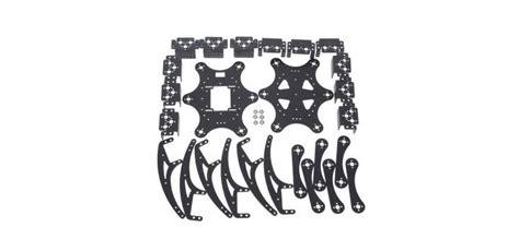 Mur Baut Spider Robot Mg90s jual aluminium hexapod spider 18dof six legs robot frame kit