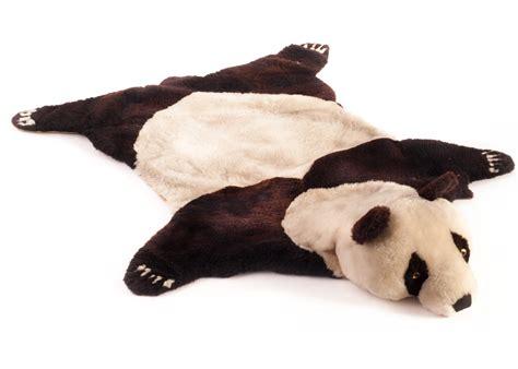 panda rug an sheepskin panda rug with black and white sheepskin clear and blac
