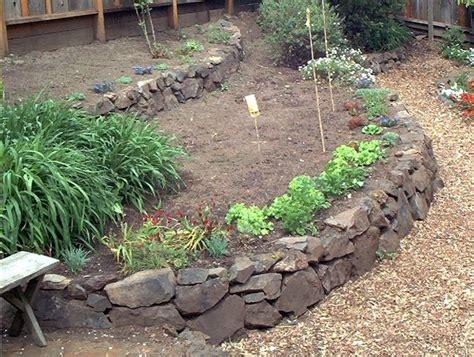 Raised Vegetable Garden Stone Www Pixshark Com Images Rock Vegetable Garden