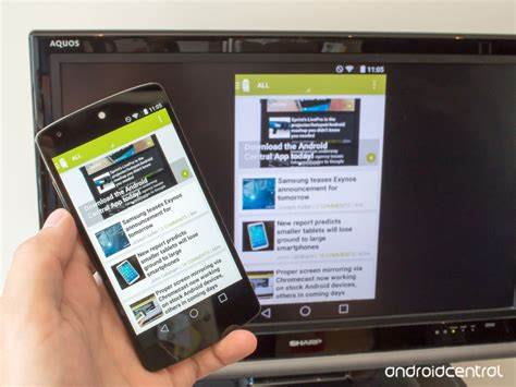 chromecast android how to mirror your android screen with chromecast android central