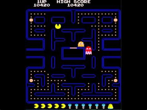 youtube pacman pattern pac man 6th key fast blue ghosts ghosts speed up in