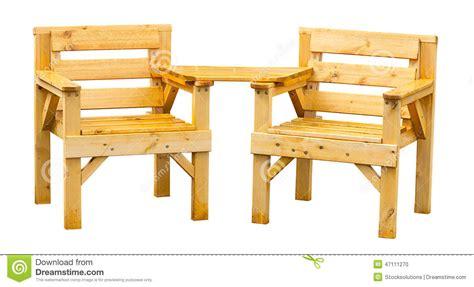 Pine Patio Furniture Soft Wood Garden Furniture Stock Photo Image 47111270