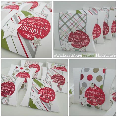 Geschenke Zu Weihnachten Basteln 204 by Www Kreativblogbyclaudi De Fr 246 Hliche Weihnacht