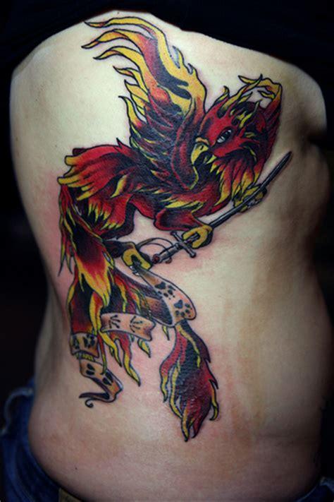 watercolor phoenix tattoo ideas flawssy