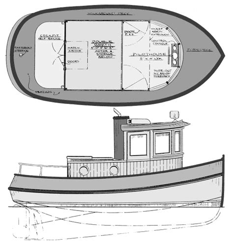 wooden tugboat plans indecision mini tug plans