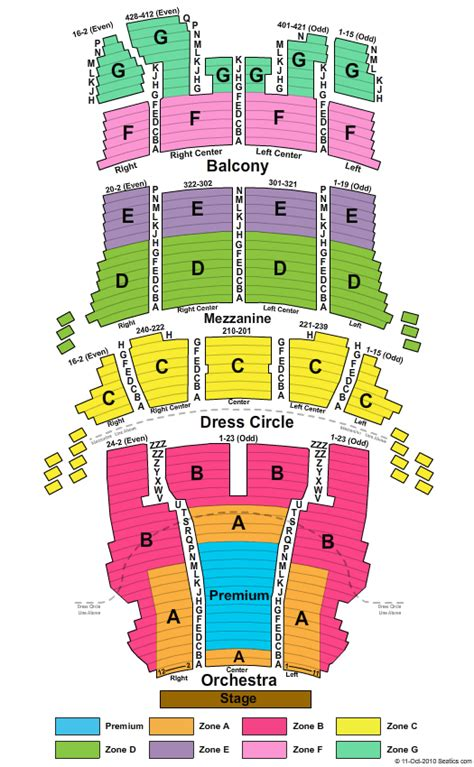 bank of america theater seating cibc theater seating chart seat views hamilton chicago