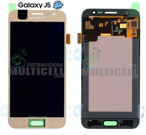 Lcd Hp Samsung J500 gabinete frontal lcd display touch screen modulo completo