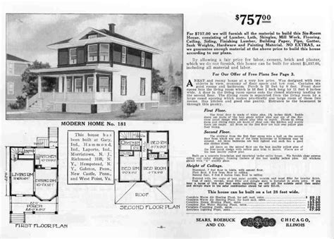 Houses By Mail Catalog Homes In Morris County Morris 1913 American Foursquare House Plans