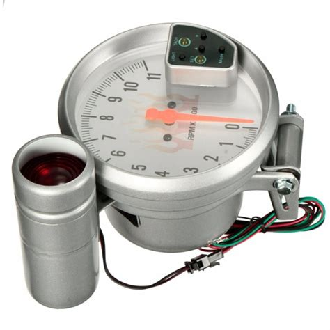 Takometer Tachometer Rpm Meter Shift Light universal 5 inch 7 color white tachometer tach meter