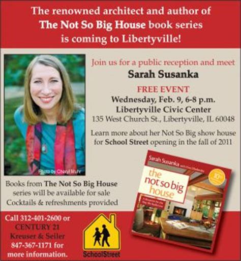author sarah susanka on the not so big concept meet sarah susanka author of quot the not so big house quot books