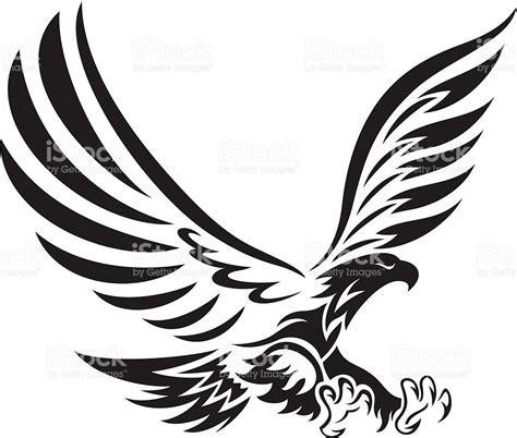 tribal eagle stock vector art amp more images of aggression