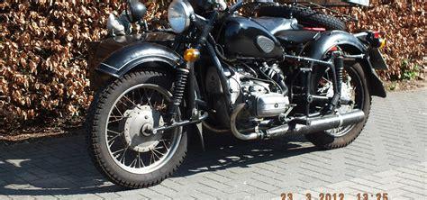 Motorrad Gespann China by Dnepr Mt16 Verkauft
