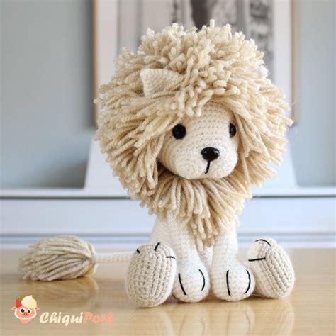 amigurumi lion crochet pattern amigurumi patterns pdf tutorial