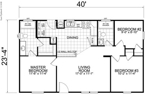 3 bedroom 2 bathroom house plans photo 8 beautiful