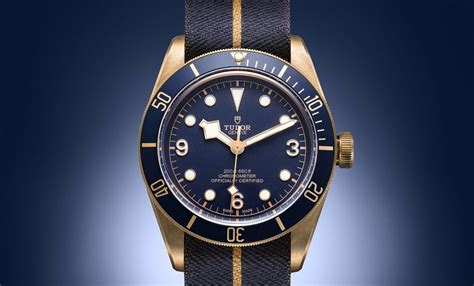Tudor Black Bay Bronze Zfactory Swiss Eta Ultimate Clone tudor unveils the stunning black bay bronze blue special edition