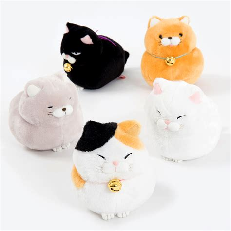 Hige Manjyu Diecut Cat Blankets hige manjyu cat plush collection standard tokyo otaku