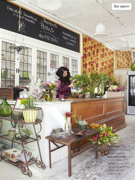 design flower shop a beautiful old home that s upcycled and chic paperblog