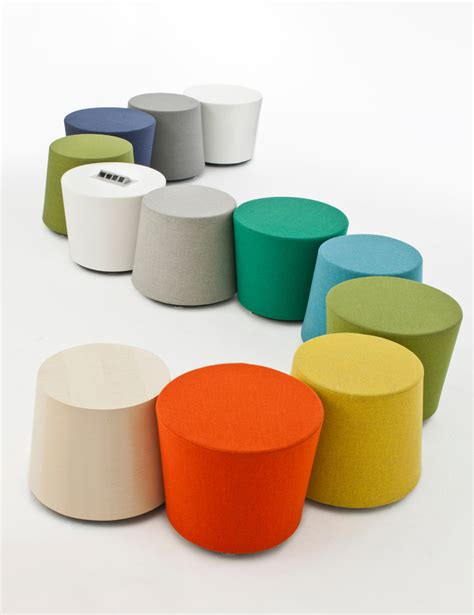 colorful ottoman top colorful ottomans ambience dor 233