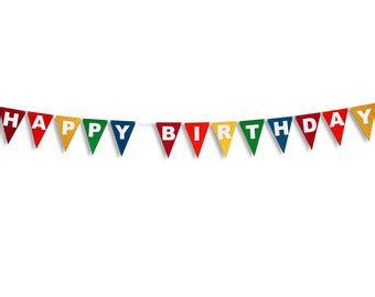 Dijamin Bunting Banner Flag Happy Anniversary flag garland etsy