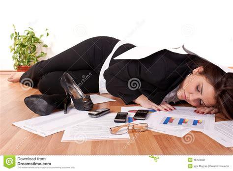 Sleeping On The Floor by Business Sleeping On Floor Stock Photography Image