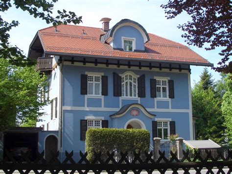 Ferienwohnung Im Blauen Haus Dg Oberbayern Garmisch