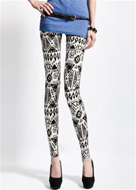 cute tribal pattern leggings girls geometric pattern print poster aztec tribal leggings