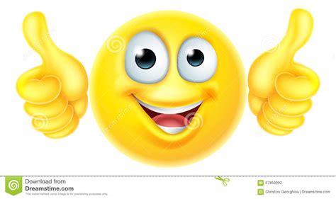 l emoji les pouces l 232 vent l emoji d 233 motic 244 ne illustration de