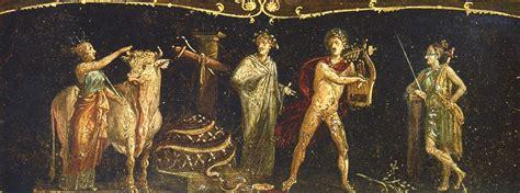pompei casa dei vettii file pompeii casa dei vettii triclinium iphigeneia jpg