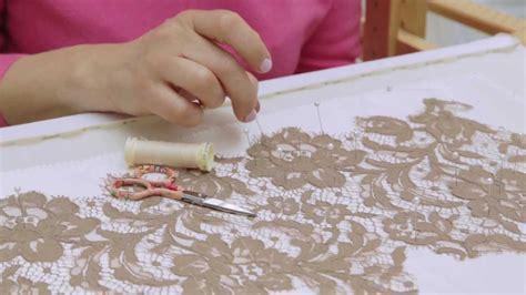 How To Sew Applique by Fashion Technique Lace Appliqu 233
