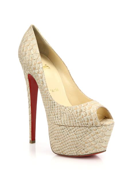 christian louboutin grey peep toe pumps, red bottom shoes for men