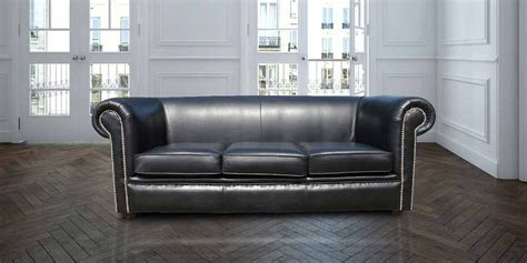 black leather dye for couch chesterfield berkeley 1930 3 seater settee sofa