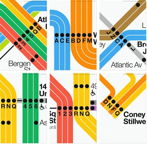 graphics design nyc nyc subway posters from massimo vignelli and superwarmred