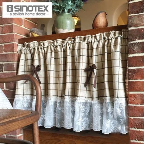 kitchen curtain panels buy wholesale kitchen panel curtains from china