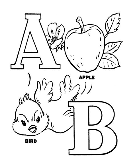 pre k abc coloring alphabet activity sheets easy