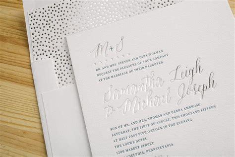 custom foil sted wedding invitations blue silver foil sted wedding invitations figura