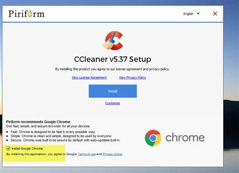 ccleaner chrome ccleaner installiert avast free antivirus wenn man nicht