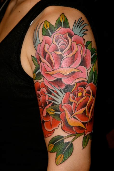 tattoo arm roses tattoo tuesday no 110 senses lost